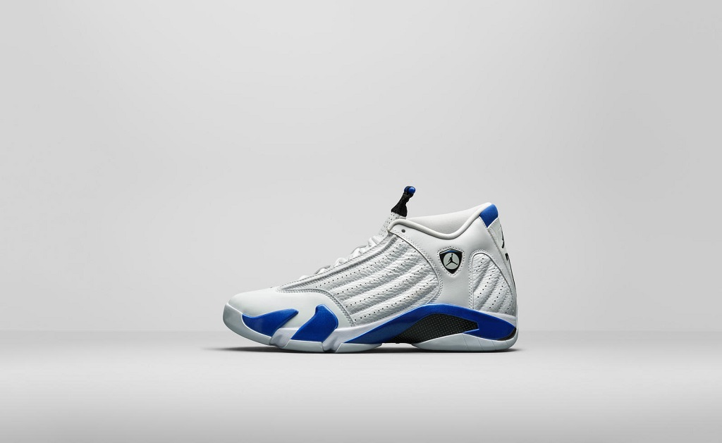 Air Jordan 14 Retro - Hyper Royal - 487471-104