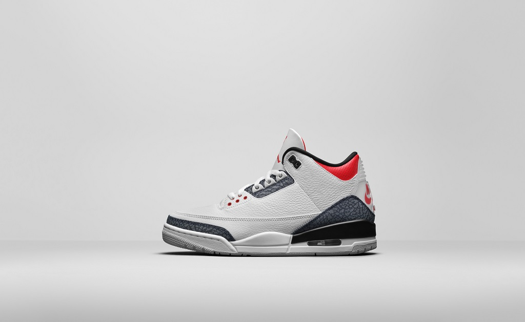Air Jordan 3 SE Denim - Fire Red - CZ6431-100