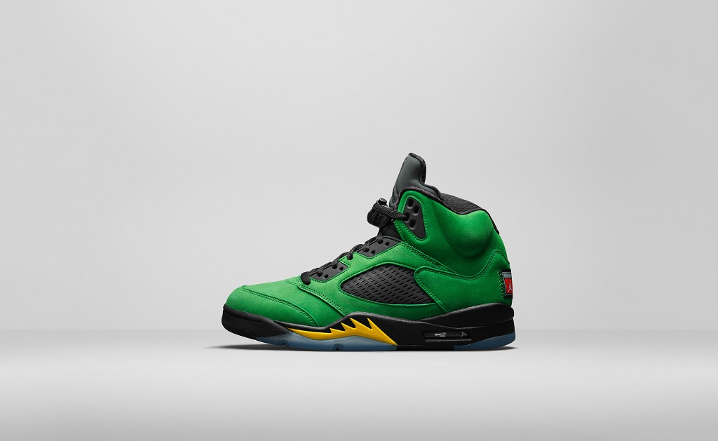 Air Jordan 5 Retro SE - Oregon - CK6631-307