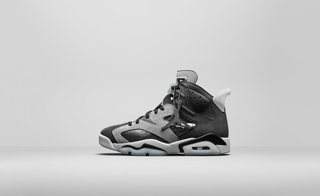 Air Jordan 6 - Black/Smoke (WMNS) - CK6635-001