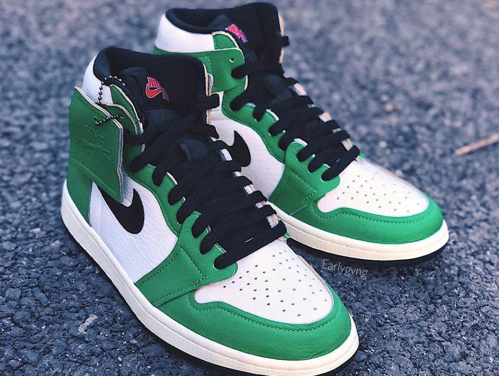 Jordan Brand Air Jordan 1 High OG Lucky Green/Black/White