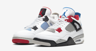 Sneaker Review - Nike Air Jordan 4 - What The