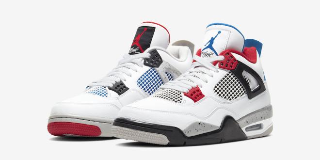 Sneaker Review - Nike Air Jordan 4 - What The