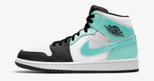 Nike Air Jordan 1 Mid - Island Green (554724-132)