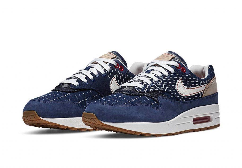 Denham x Nike Air Max 1 - Blue Void (CW7603-400) 00