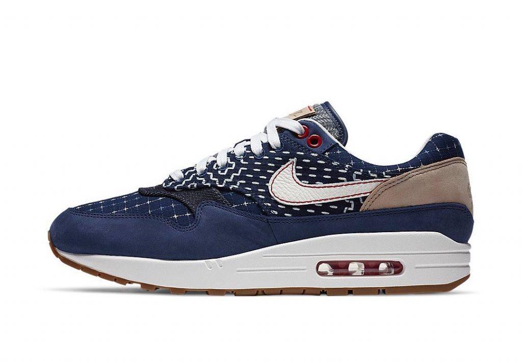 Denham x Nike Air Max 1 - Blue Void (CW7603-400) 01