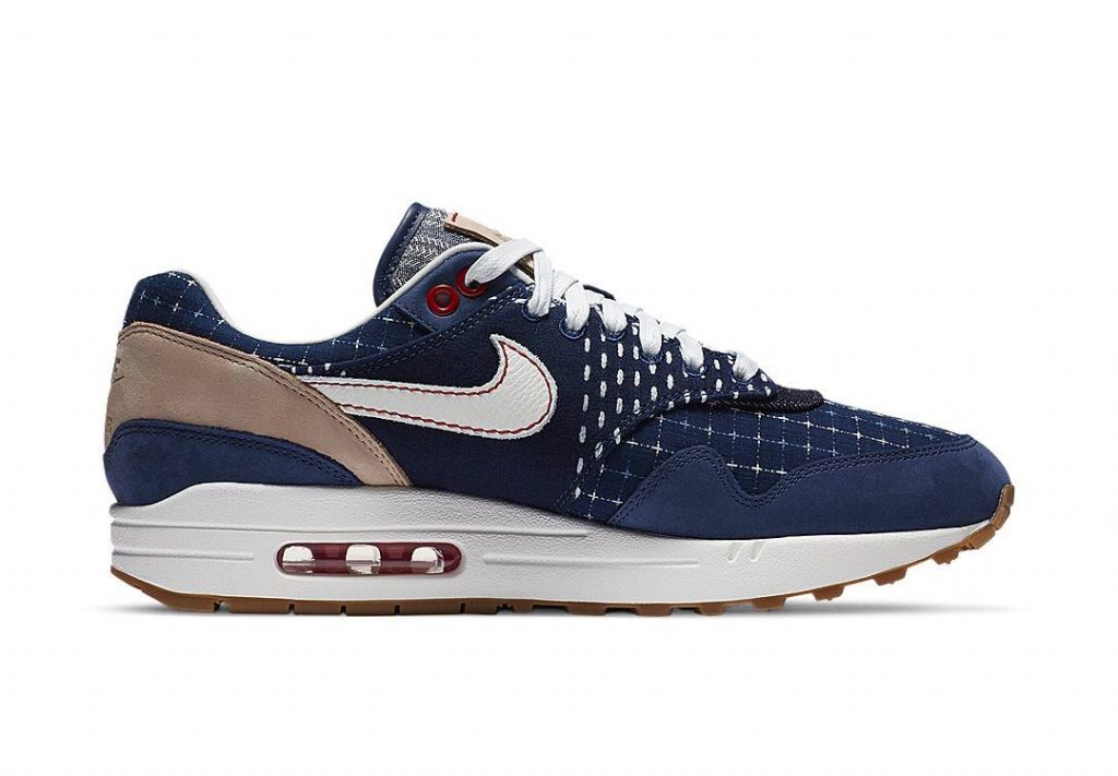 Denham x Nike Air Max 1 - Blue Void (CW7603-400) 02
