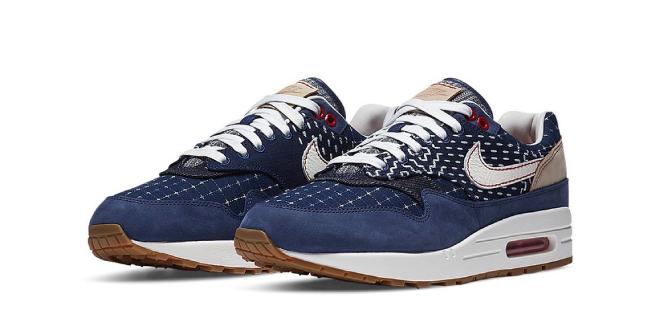 Denham x Nike Air Max 1 - Blue Void (CW7603-400)