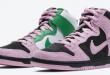 Release datum van de Nike SB Dunk High - Invert Celtics (CU7349-001)