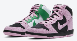 Nike SB Dunk High - Invert Celtics (CU7349-001)