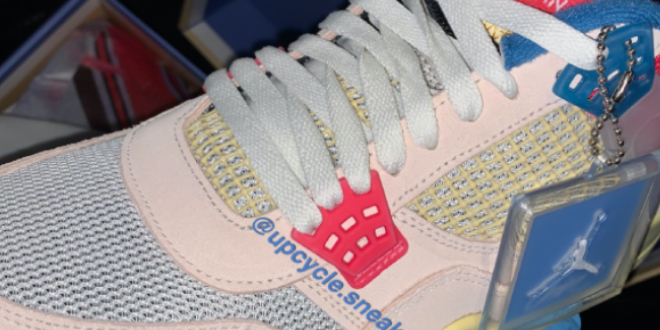 UNION x Air Jordan 4 - Guava Ice (DC9533-800)