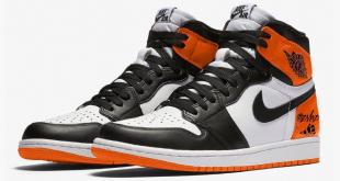 Air Jordan 1 High OG - Black Toe Shattered Backboard