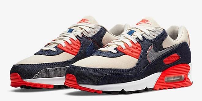 Sneaker release: Denham x Nike Air Max 90 - Infrared