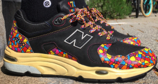 Sneaker Blog - New Balance 1700 X 24 Kilates 'modernism pack'