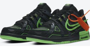 Sneaker Release: Off-White x Nike Air Rubber Dunk - Green Strike (CU6015-001)