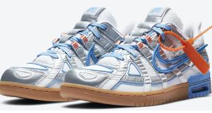 Sneaker Release: Off-White x Nike Air Rubber Dunk - University Blue (CU6015-100)