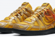 Sneaker Release: Off-White x Nike Air Rubber Dunk - University Gold (CU6015-700)