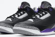 Release info: Air Jordan 3 - Court Purple (CT8532-050)