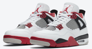 Air Jordan 4 - Fire Red 2020 (DC7770-160) v2