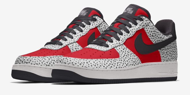 Nike By You - Air Force 1 (Safari prints)