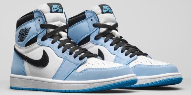 Release datum: Air Jordan 1 High OG - University Blue (555088-134)
