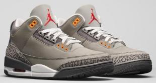 Release datum van de Air Jordan 3 - Cool Grey (CT8532-012)