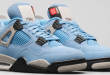 Release date van de Air Jordan 4 UNC - University Blue (CT8527-400)