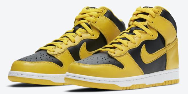 Release datum van de Nike Dunk High SP – Varsity Maize (CZ8149-002)