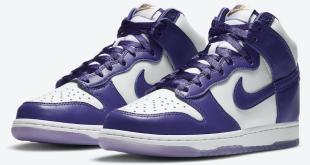 Release datum van de Nike Dunk High WMNS - Varsity Purple (DC5382-100)