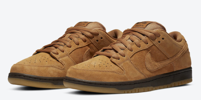 Release datum van de Nike SB Dunk Low – Wheat Mocha (BQ6817-204)