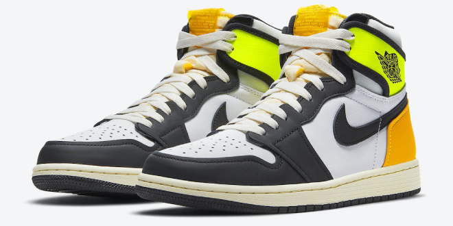 Release datum van de Air Jordan 1 High OG - Volt Gold (555088-118)