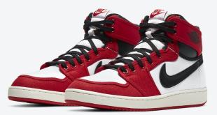 release datum van de Air Jordan 1 KO - Chicago (DA9089-100)
