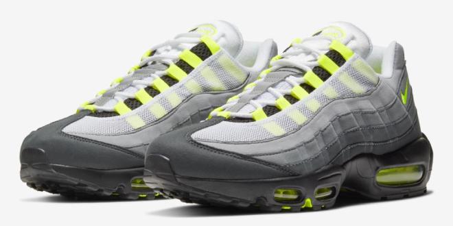 Release datum van de Nike Air Max 95 OG - Neon (CT1689-001)