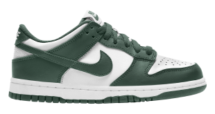 Nike Dunk Low - White-Green (CW1590-102)