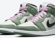 Air Jordan 1 Mid SE - Dutch Green (CZ0774-300)