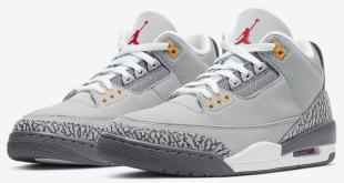 Air Jordan 3 - Cool Grey 2021(CT8532-012)