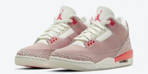 Release datum van de Air Jordan 3 (WMNS) - Rust Pink (CK9246-600)
