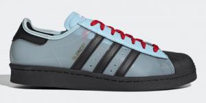 Release datum van de Blondey x adidas Superstar - Starlight Blue (H03341)
