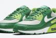 Sneaker release van de Nike Air Max 90 - St. Patrick's Day (DD8555-300)