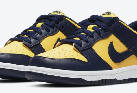 release datum van de Nike Dunk Low - Michigan (DD1391-700)