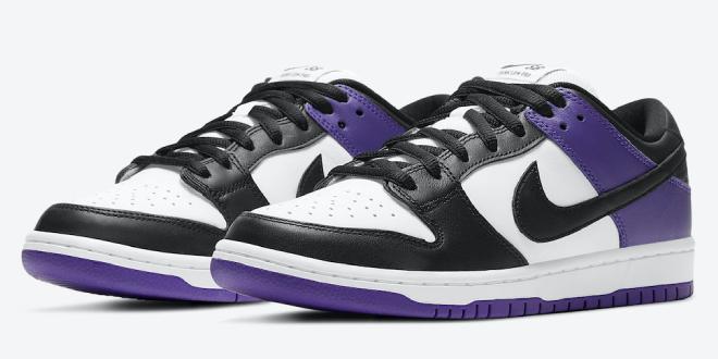 Release datum van de Nike SB Dunk Low - Court Purple (BQ6817-500)