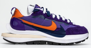 Sacai x Nike VaporWaffle - Dark Iris