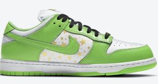 Supreme x Nike SB Dunk Low – Mean Green (DH3228-101)