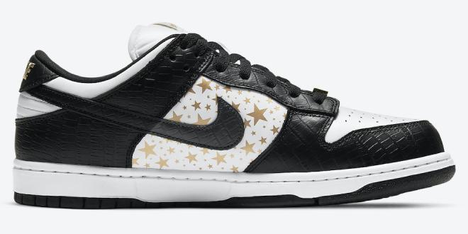 Supreme x Nike SB Dunk Low - Black (DH3228-102)