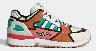 The Simpsons x adidas ZX 10000 - Krusty Burger (H05783)