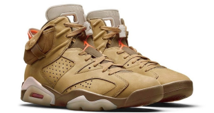 Travis Scott x Air Jordan 6 - British Khaki (DH0690-200) sample