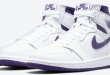 Release datum van de Air Jordan 1 High OG WMNS - Court Purple (CD0461-151)