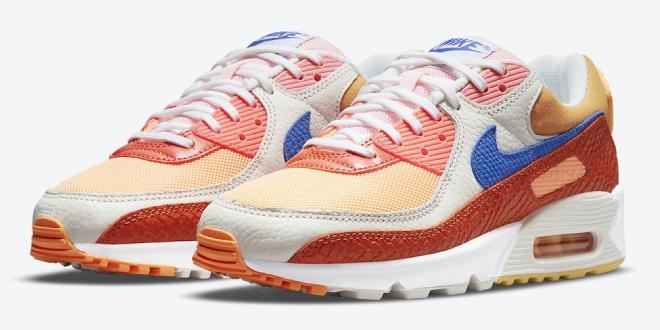 Release datum van de Nike Air Max 90 - Campfire Orange (DJ8517-800)