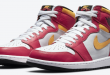 Release dag van de Air Jordan 1 High OG - Light Fusion Red (555088-603)