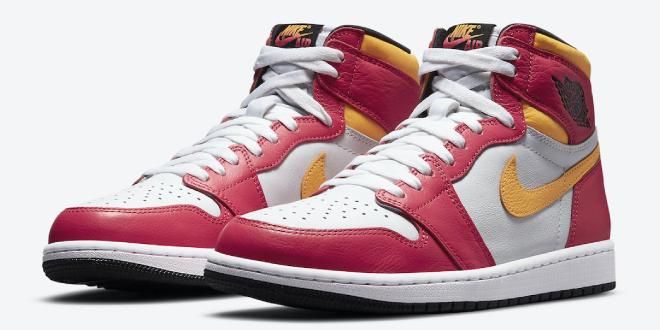 Release dag van de Air Jordan 1 High OG - Light Fusion Red (555088-603)